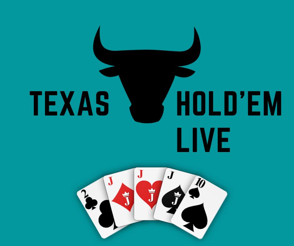 Kasino online Texas Hold'em poker langsung